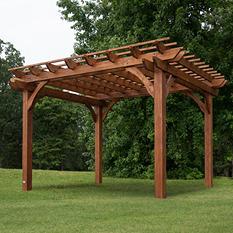 12' x 10' Cedar Pergola