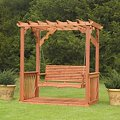 Cedar Pergola SwingImage