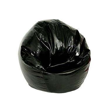 Bean Bag - Junior - Wet Look Black