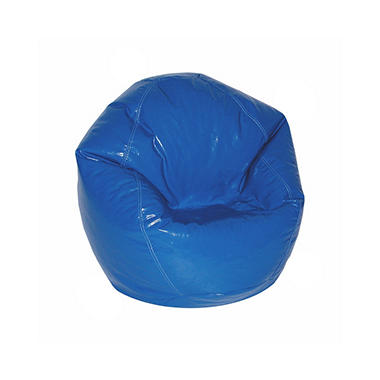 Bean Bag - Junior - Wet Look Blue