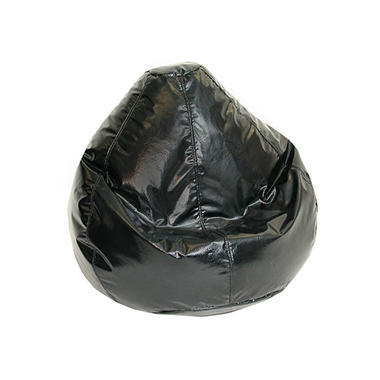 Bean Bag - Large - Wet Look Black
