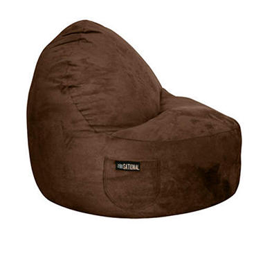 Single Seater-Sitsational Chair - Chocolate Suede