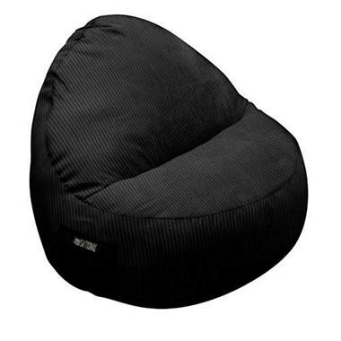 Single-Seater Sitsational - Black Cordouroy