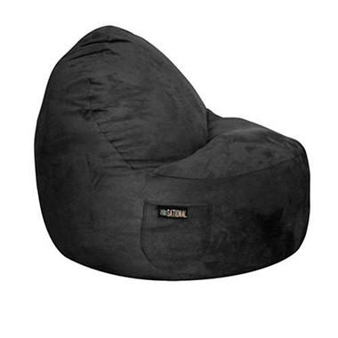 Two-Seater Sitsational - Black Suede