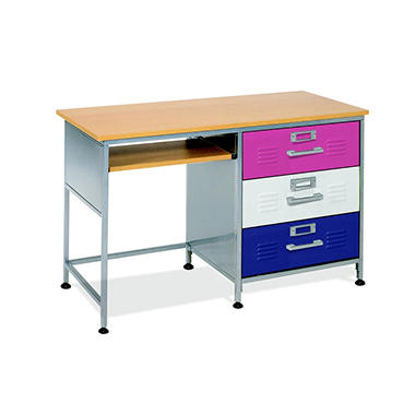 Locker Desk w/ Mix-n-Match Drawer Panels