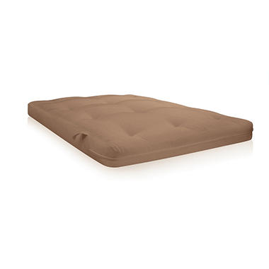 Contour Coil 8000 Futon Matress - Tan
