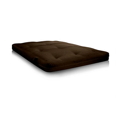 Contour Coil 8000 Futon Mattress - Chocolate