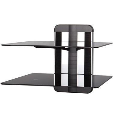 Any Wall TV & AV Accessory Shelving with 2 Adjustable Shelves