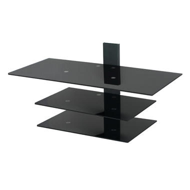 "Orbital 3 Tier Glass Wall Mounting System – Fits up to 50"" TVs"