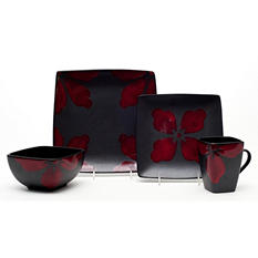 Tile 32-Piece Dinnerware Set