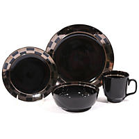 Checkmate 32-Piece Dinnerware Set