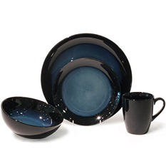 Midnight 32-Piece Dinnerware Set