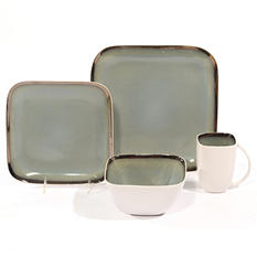 Mist 32-Piece Dinnerware Set