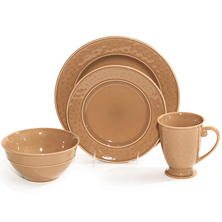 Hammered 32-Piece Dinnerware Set