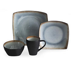 Baum 32-Piece Crackle Ice Dinnerware Set