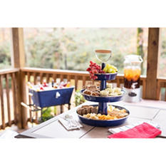 Three-Tiered Server (Assorted Colors)