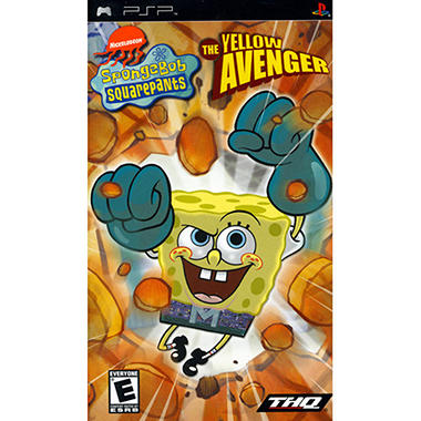 Spongebob The Yellow Avenger - PSP
