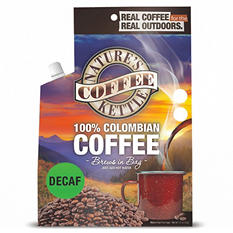 Nature's Coffee Kettle 100% Columbian Decaf Coffee (1.2 oz. pouch, 12 pk.)