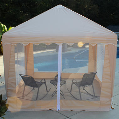 Garden Party Gazebo, Almond - 10' x 10'