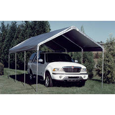 Universal Canopy - Silver - 10' x 20'