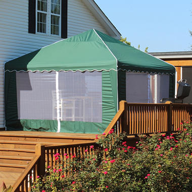Garden Party Gazebo, Green  - 13' x 13'