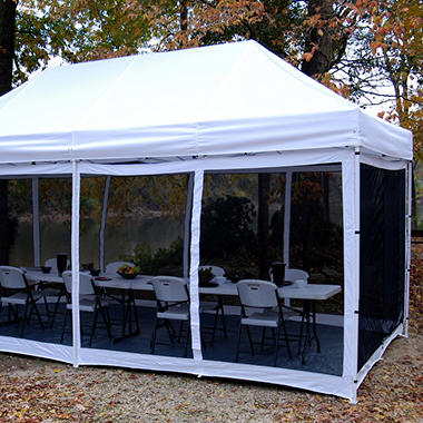 King Canopy Explorer Bug Screen Room - 10' x 20'