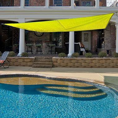 King Canopy Quadrilateral Sun Shade Sail - 16' × 16'