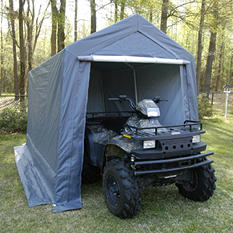 King Canopy Storage Shelter - 7' x 12'