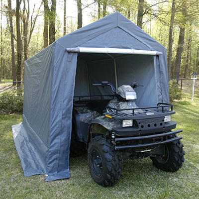 King Canopy Storage Shelter - 7' x 12'