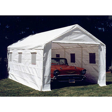 Sidewall Kit w/ Windows - White - 10' x 20'