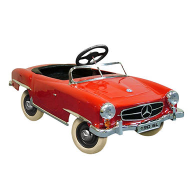 Mercedes benz 190 sl pedal car sam 39 s club for Mercedes benz pedal car