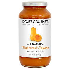 Dave's Gourmet Butternut Squash Pasta Sauce (2 pk., 25.5 oz. ea.)