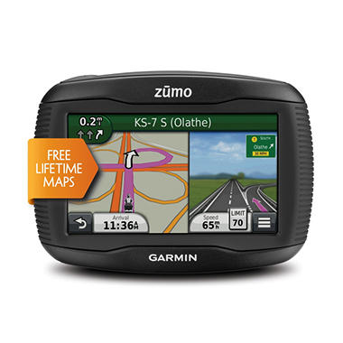 Garmin zūmo 350LM GPS w/ Lifetime Maps