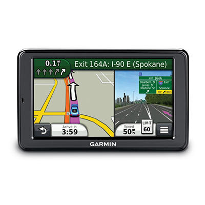 "Garmin nuvi 2555LMTHD 5"" GPS w/ Lifetime Maps and Traffic"