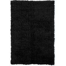 Flokati New Shag Rug, Black (Assorted Sizes)