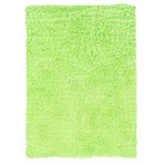 Faux Sheepskin Rug, Green (Assorted Sizes)