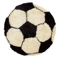 Sport Ball Rug (Assorted Styles)