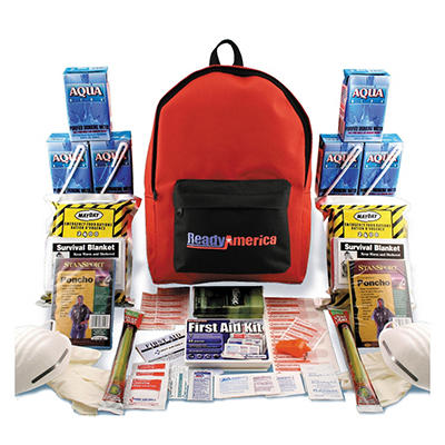 Grab 'n Go 3 Day Emergency Kit 2 Person Backpack