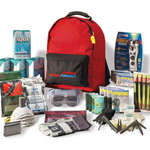 Grab 'n Go 3 Day Emergency Deluxe Kit (4 people)