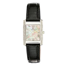 Croton Ladies Swiss Quartz Ballroom Watch with Diamonds and Mother of Pearl