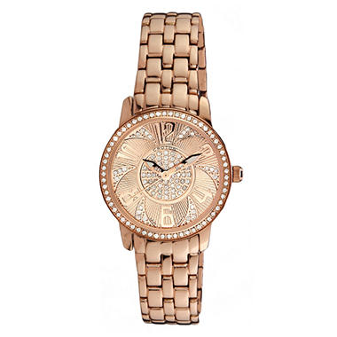Croton 0.75 ct. t.w. Diamond Watch in Rose Gold and Stainless Steel