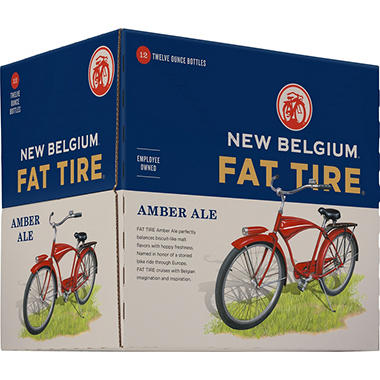 NEW BEL FAT TIRE 12 / 12 OZ BOTTLES