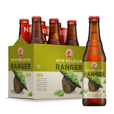 NEW BELGIUM RANGER 6 / 12 OZ BOTTLES
