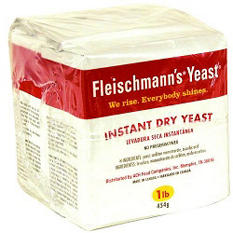 Fleischmann's Instant Dry Yeast  (16 oz. bags, 2 pk.)