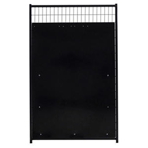 Lucky Dog 5'H x 4'W HDPE Isolation Panel KIT for 4' W Panel