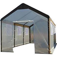 Spring Gardener Gable Greenhouse - 10'W x 20'L x 9'H
