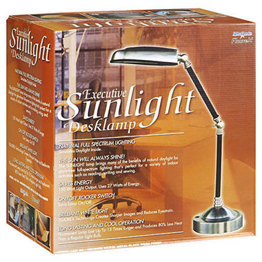 Executive Sun Light® Desk Lamp