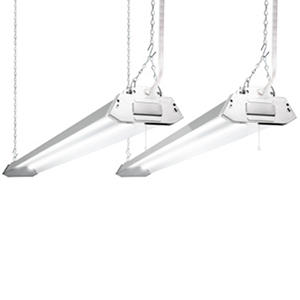Lights of America 4-foot LED Shoplight (2 pk.)