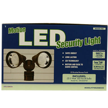 Motion LED Security Light