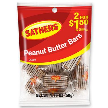 sathers peanut butter bars oz bag 12 ct sam 39 s club. Black Bedroom Furniture Sets. Home Design Ideas